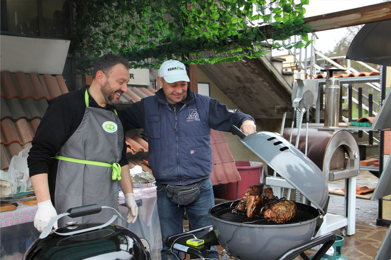 Barbecue outdoor chef
